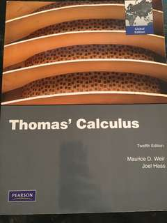 Thomas Calculus 12th Edition
