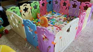 Baby Play Yard And fences