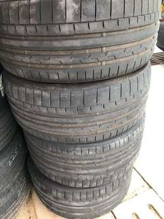 """Continental CSC6 Used tyre 20"""" Set for sale"""