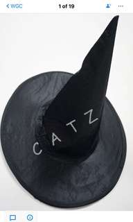 < CATZ > Halloween Props Halloween Witch Hat
