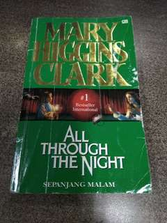 All Through the Night - Sepanjang Malam by Mary Higgins Clark