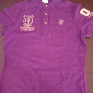 🚚 紫色polo衫