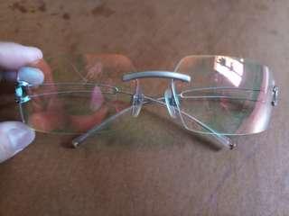 Chanel rimless eyewear