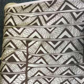 Fashion Fabric - Geo Print (Made In Japan)