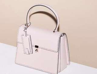 全新Valentino Stud Stitching bag