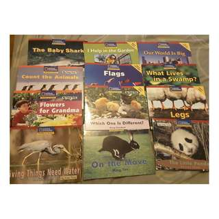 Preschool English Readers x 28 books