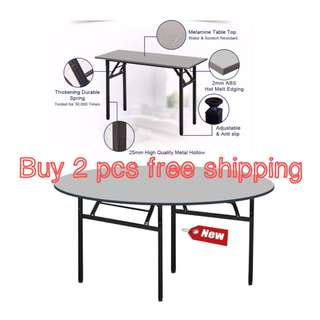 Round banquet table(5'x5'x76cm, buy 2 pcs free delivery)