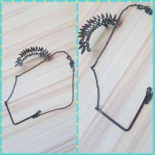 Buy 1 cuffearrings take 1 necklace free