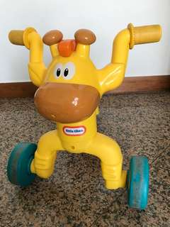 Little tikes tricycle giraffe