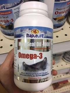 高濃度奧米加3海豹油-加拿大🇨🇦代購