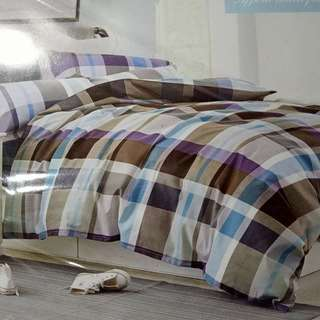 cotton bedsheet(lan)