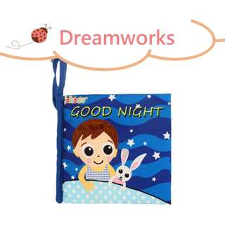 JollyBaby Cloth Book - Goodnight Series