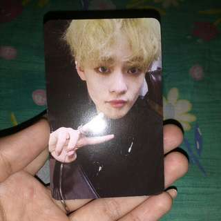 NCT 2018 EMPATHY CHENLE PHOTOCARD