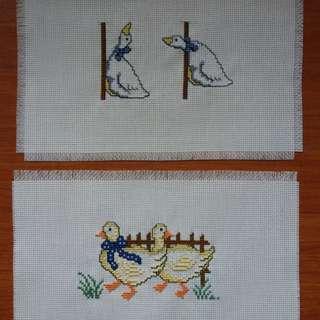 Ducks (cross stitch)