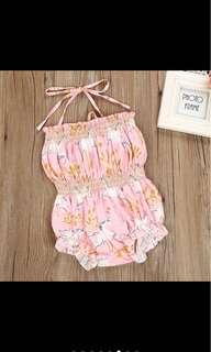 Unicorn bodysuit sleeveless summer romper baby girl infant newborn toddler kid