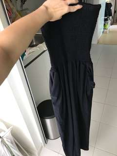 Preloved dark blue jumpsuit (hardly worn)