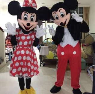 Mickey and Minnie Mascots for Sale