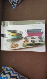 Gibson colorsplash 5-pc Bakeware set