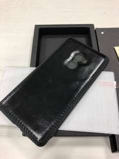 Xiaomi Mi Mix 2 leather case with tempered glass