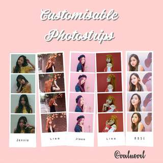 Customisable Photostrips