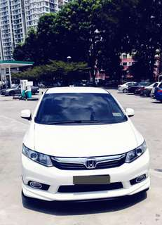 SAMBUNG BAYAR/CONTINUE LOAN  HONDA CIVIC FB AUTO 1.8 IVTEC YEAR 2013 MONTHLY RM 1270 BALANCE 5 YEARS + ROADTAX SEPT 2018 LOW MILEAGE   DP KLIK wasap.my/60133524312/fb