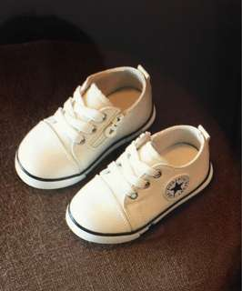 Toddler Canvas Sneaker For 12-24Mths