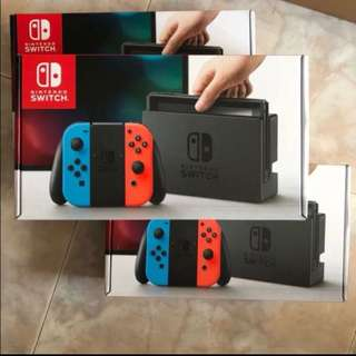 Nintendo Switch local set with 1 year warranty