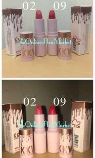 KKW by Kylie Cosmetics: Matte Lipstick 💄