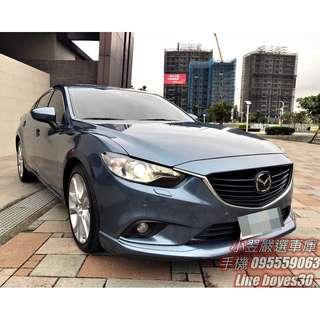 《2014 Mazda 6 2.2柴油旗艦型》
