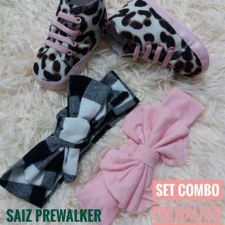 Combo set prewalker/headband