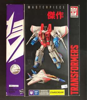 Transformers starscream Mp masterpiece