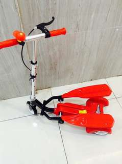 Kiddie Scooter with Pedal and Brake
