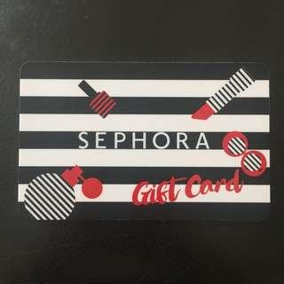 $30 Sephora Gift Card