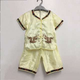Boy Samfu Set