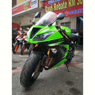 Kawasaki Zx6r zx636 used for sale