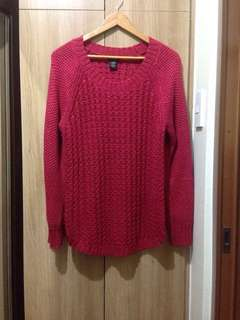 🍃Authentic Calvin Klein Oversized Knitted Pullover. Good as new