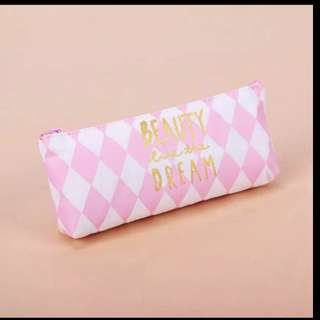 Pencil Case With Motivational Quote - Beauty Like The Dream