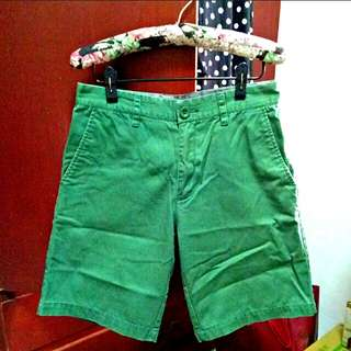 HENGTEN-五分卡其褲(綠)