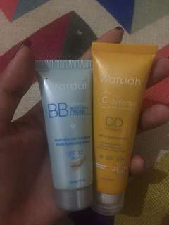 Wardah DD cream & BB cream