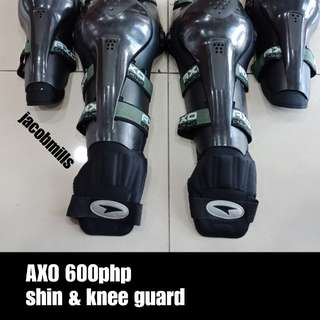 Axo shin & knee guard