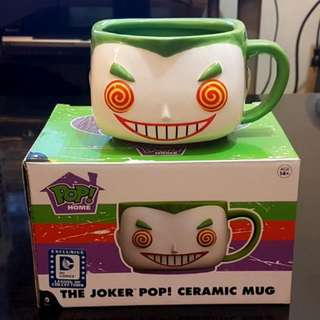 Funko Pop Joker Mug Legion of Collectors Box