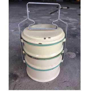 Vintage Enamel Food Container