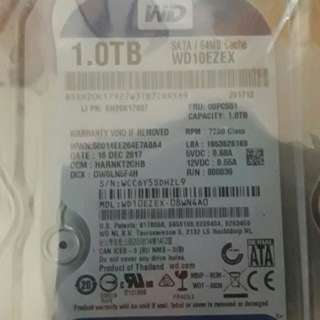 internal hard disk WD blue 1TB sata3