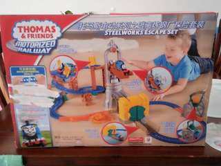 Thomas and friends steelworks escape set