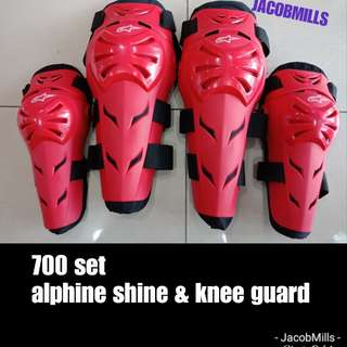 Alphine shin&knee guard