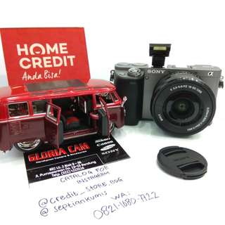 Kredit Kamera Mirorrless SONY a6000, readyall Nikon, canon, Fujifilm dll.