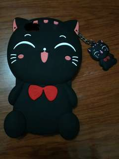 3d silicone Cat for Iphone
