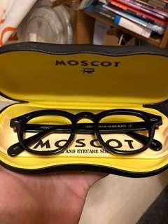 MOSCOT 眼鏡 鏡框 黑色 S號