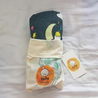 Brand new Tula × Meeyoo Under the Stars baby size blanket