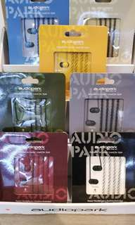 Audio park (bracelet) earphone耳機 1